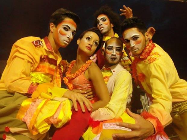 Dançarinos do grupo Balé do Cerrado se apresentam nos EUA nesta quinta. (Foto: Lúcio Santos/ Acervo Maior São João do Cerrado)
