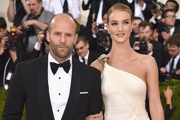 Jason Statham e Rosie Hungtington-Whiteley (Foto: Getty Images)