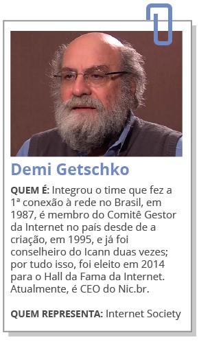 Futuro da internet: ficha demi (Foto: G1)
