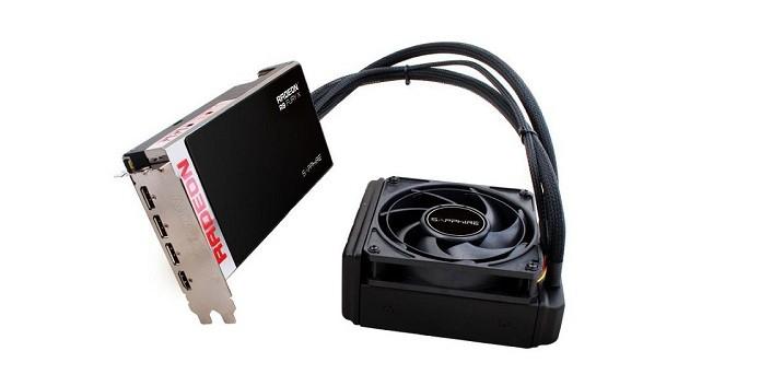 R9 X Fury possui refrigeração por water cooler (Foto: Divulgação/Sapphire)