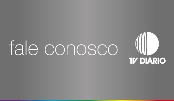 Fale com os profissionais da TV Diário  (Foto: Reprodução / TV Diário)