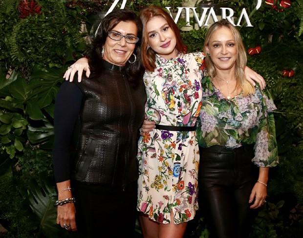 Marina com a sogra, Vera, e a mãe, Gioconda (Foto: Manuela Scarpa/Brazil News)