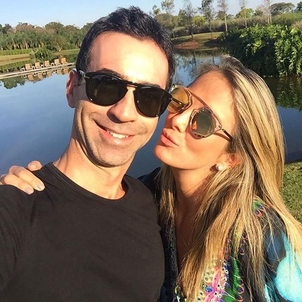 César Tralli e Ticiane Pinheiro (Foto: Reprodução/ Instagram)