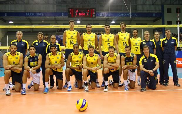 Volei - Seleção Brasil (Foto: CBV)
