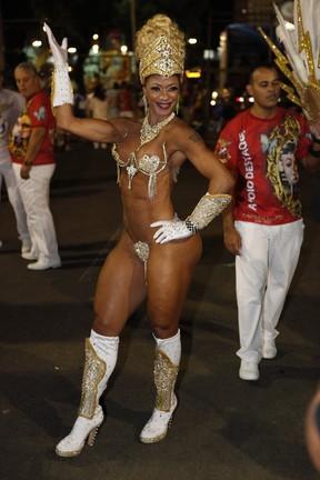 Rosi Barreto, Musa da União da Ilha (Foto: Caio Novaes / EGO)