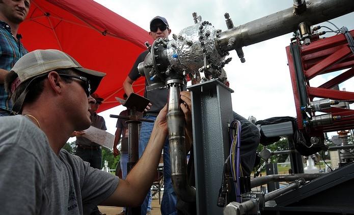 Turbobomba feita com impressão 3D obteve sucesso em testes (Foto: Divulgação/NASA)