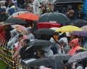 FOTOS: Chuva torrencial alaga pista e adia treino classificatório