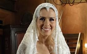 Leona Cavalli usaria o vestido de noiva de Zarolha: 'Bem feito, bonito e moderno!'