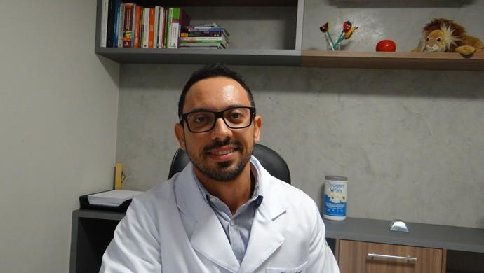Keny Torres, nutricionista esportivo (Foto: Denison Roma / GloboEsporte.com)