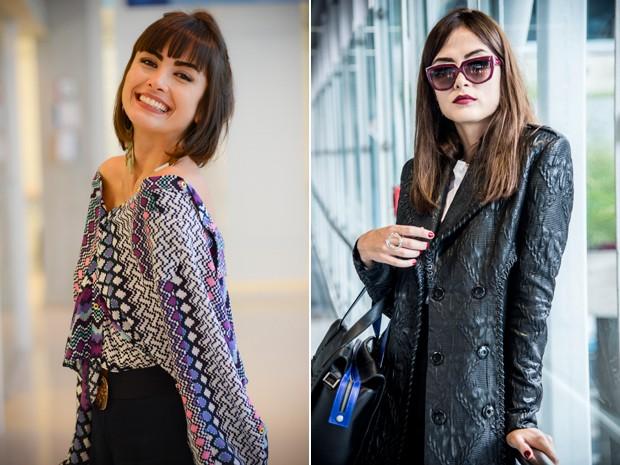 maria casadevall antes e depois (Foto: Gshow)