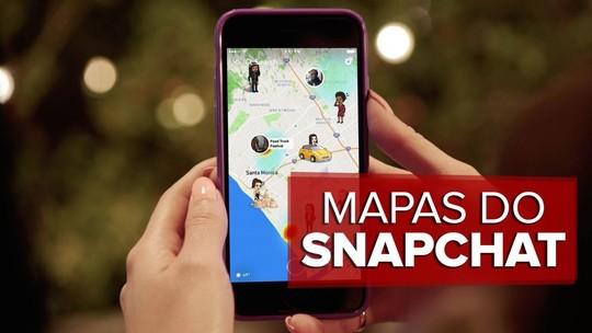 Snapchat ganha mapa que exibe localização de amigos no app