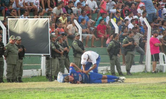 Enxuga Rato e Altos amistoso (Foto: Renan Morais/GloboEsporte.com)