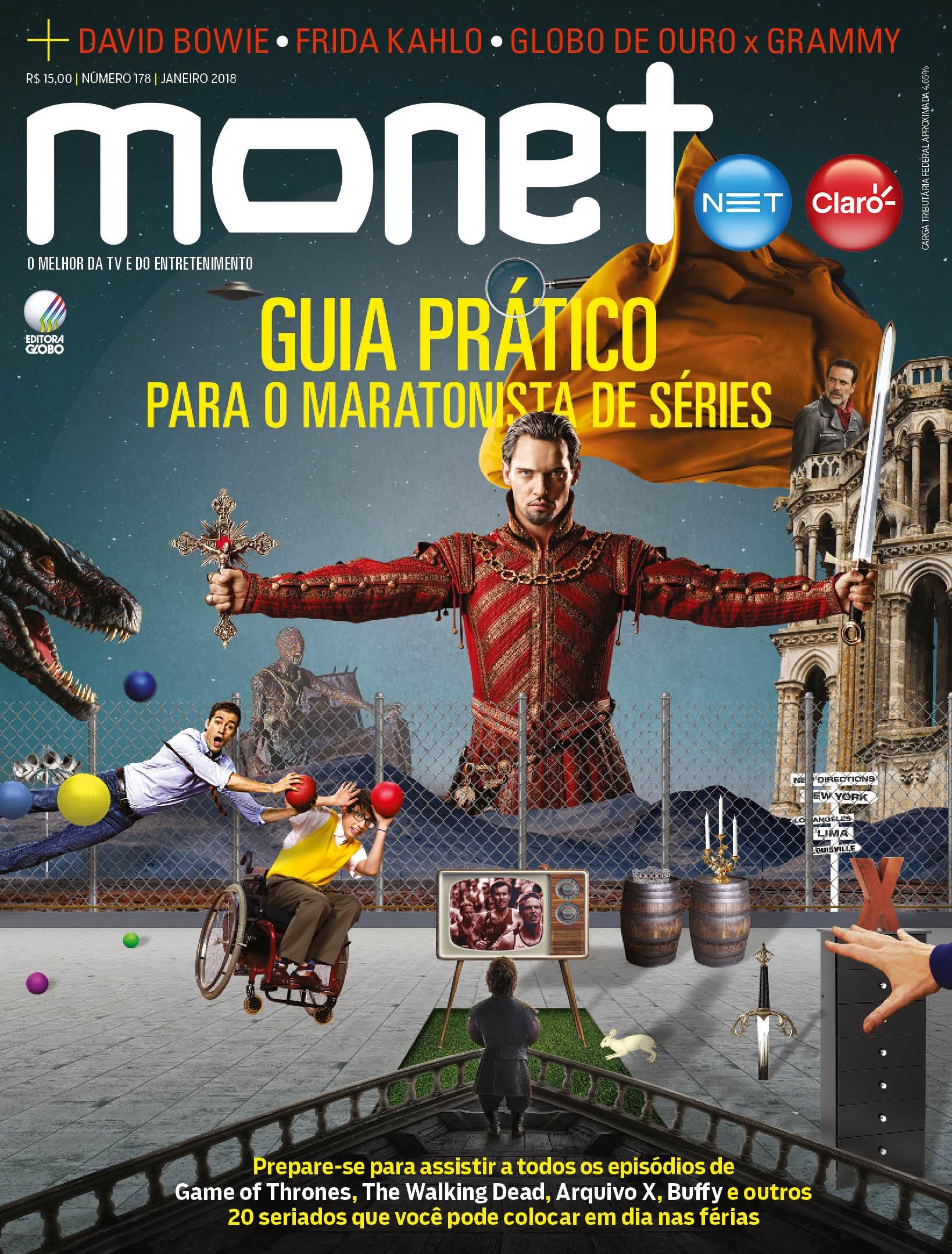Revista Monet - Edição 178 - Janeiro/2018 (Foto: Revista Monet)