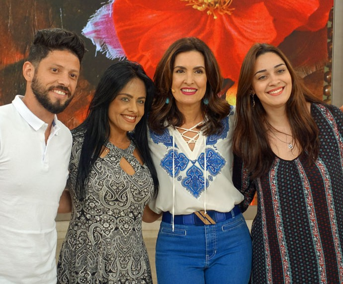 Clique nos bastidores do programa  (Foto: Vinícius Cunha/Gshow)