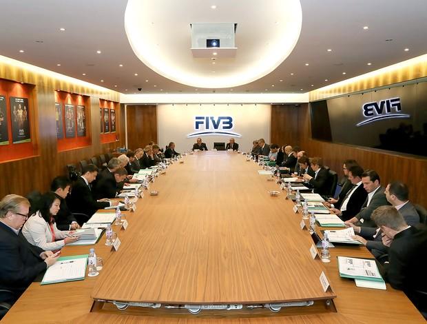 reunião de vôlei FIVB lausanne (Foto: Divulgação / FIVB)