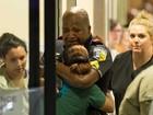 FOTOS: Ato contra a polícia termina com mortos nos EUA