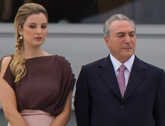 Michel e Marcela Temer. (Foto: Folhapress)
