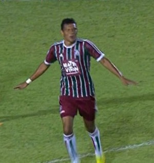 Euller gol Fluminense Copa São paulo de Juniores (Foto: GloboEsporte.com)