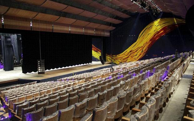 No aniversário de Oscar Niemeyer, auditório do Memorial é reaberto (Foto: Divulgação)