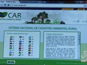 Cadastro Ambiental Rural é implantado no Amapá (Foto: Reprodução/TV Amapá)