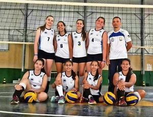 Atletas de Rondônia disputam Taça Paraná de Vôlei (Foto: AVV/ Divulgação)