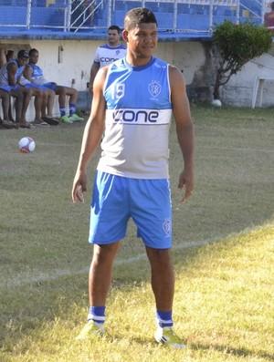 Ronaldo Capixaba, atacante do Vitória-ES (Foto: Sidney Magno Novo/Globoesporte.com)