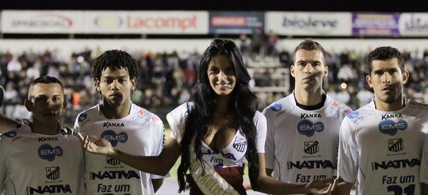 Musa Bragantino Lorena Bueri  (Foto: Luis Moura / Ag. Estado)