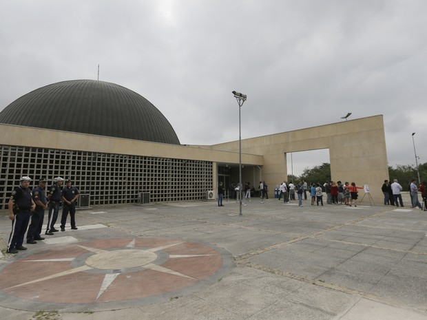Planetário é reinaugurado no Parque do Carmo, em São Paulo (Foto: Cesar Ogata/SECOM)