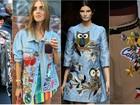 Roupas com 'patches' voltam à moda entre mulheres e homens; Inspire-se