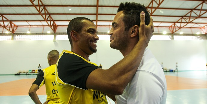 Falcão e Amoroso, Sorocaba Futsal, Pulo do Gato (Foto: André Montejano/Pulo do Gato Futsal)