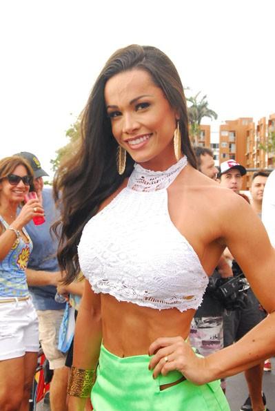 Fernanda D'Ávila em Salvador (Foto: Marcelo Machado / AgHaack)
