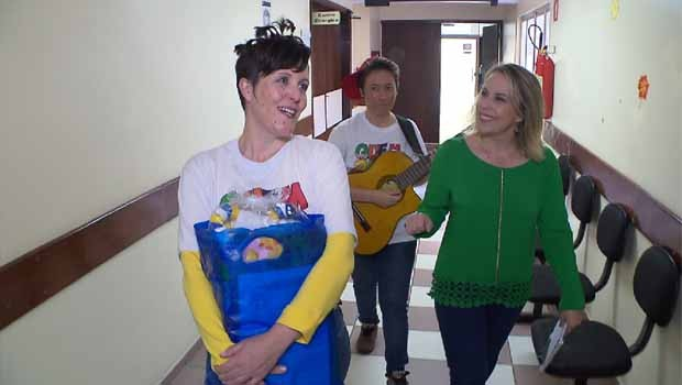 Edla Martins e Valesca Rodrigues, fundaram a Associação Mãozinhas de Anjo (AMA), em 2008 (Foto: Reprodução/RPC)