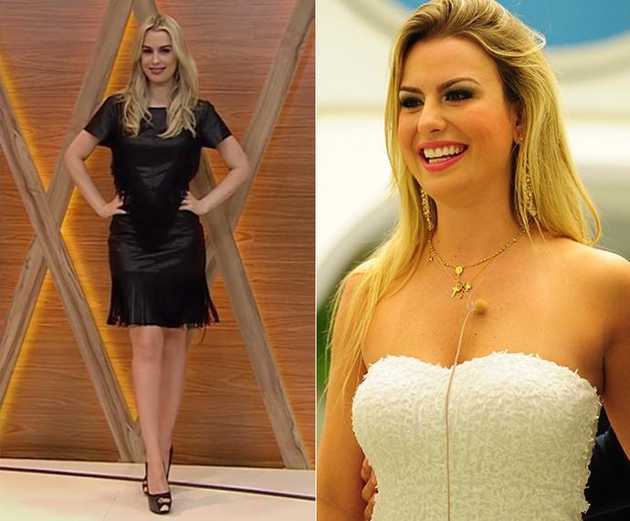 Fernanda Keulla investiu na carreira como apresentadora (Foto: TV Globo Minas / João Cotta / TV globo)