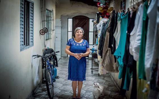Aparecida de Fátima Souza (Foto: Anna Carolina Negri/ÉPOCA)