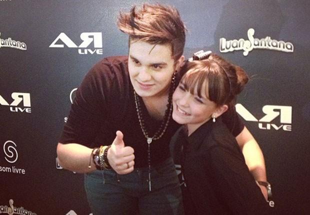 Larissa e Luan (Foto: Reprodução/Instagram)
