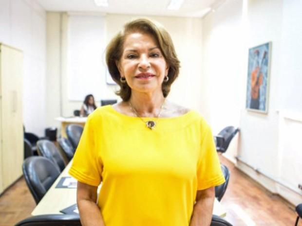 Maria Helena esteve à frente da secretaria em 2002 (Foto: Eduardo Saraiva / Secretaria de Educação)