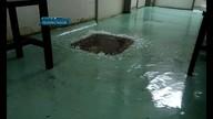 Chuva alaga alas no Hospital Regional do Gama; veja