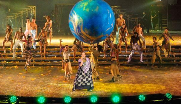 Imagem do show Criança Esperança 2011 (Foto: Divulgação)