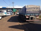 Paralisação de analistas tributários provoca fila de caminhões na fronteira