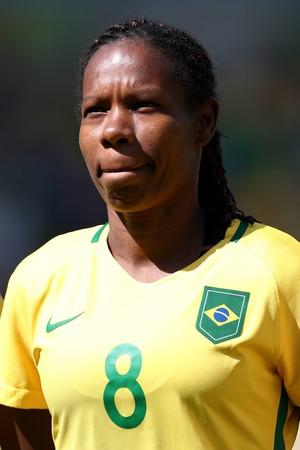 Formiga Brasil x Suecia (Foto: AFP)