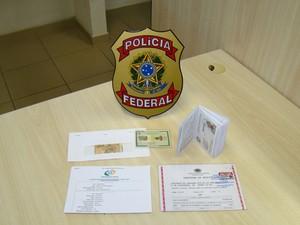 Prisão aconteceu nesta quinta-feira em Monte Alegre (Foto: Divulgação/Polícia Federal)