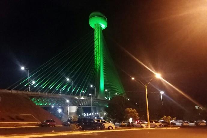 Ponte Estaiada Teresina - Chapecoense (Foto: Divulgação/Prefeitura)