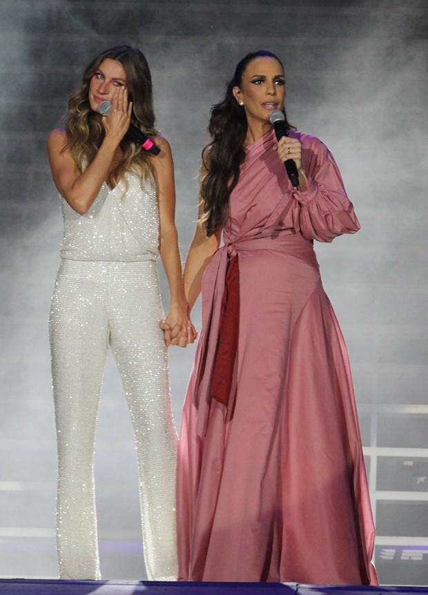 Gisele Bündchen e Ivete Sangalo (Foto: .Wallace Barbosa/ Ag News)