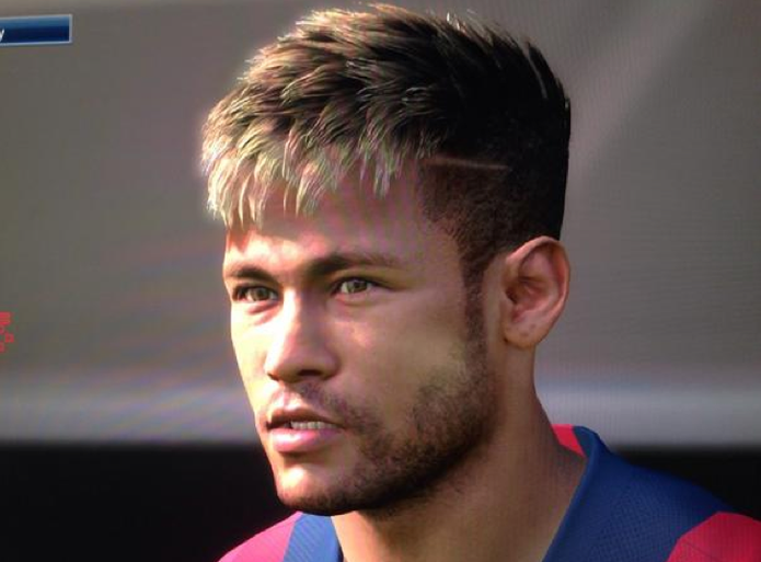Neymar na versão 2015 (Foto: Divulgação)