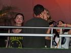 Luciano Huck e Angélica curtem show de Beyoncé em clima romântico