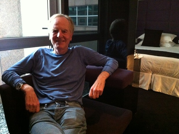John Sculley em sua passagem por S&#227;o Paulo (Foto: Amanda Demetrio/G1)