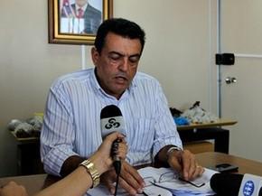 Coronel Lourismar Bonates, titular da Seap, criticou gestão da unidade (Foto: Luis Henrique Oliveira/G1 AM)