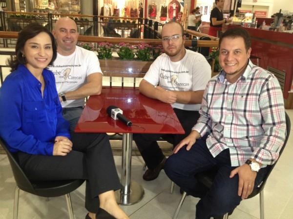 Carecas (Foto: Mateus Castro/RBS TV)