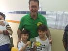 Luciano Rezende do PPS vota em Vitória nesta manhã