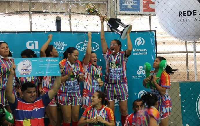Copa Rede AM de Futsal, final feminina, ninhos de aguia, manaus moderna (Foto: Diego Toledano)
